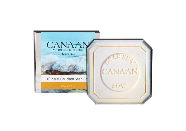 Canaan Minerals & Herbs Dead Sea Mineral Enriched Soap Bar